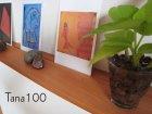 他の写真1: 【木製壁掛棚/ウォールシェルフ】TANA100チェリーモデル[ 壁面のアクセントにも!]