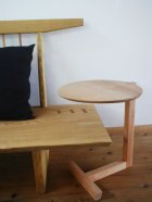 他の写真2: サイドテーブルELLU(エル)【送料無料】木製壁掛棚/無垢家具のイオリスペース
