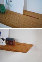 他の写真1: 【木製壁掛棚/ウォールシェルフ】TANA100オークモデル[ 壁面のアクセントにも!]