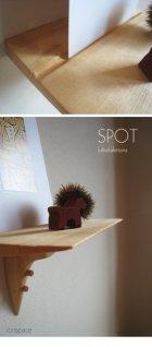 他の写真1: 【壁掛け棚/ウォールシェルフ】SPOT(スポット)ホワイトモデル 壁面におしゃれなスペースを作る超コンパクトな壁掛け飾り棚