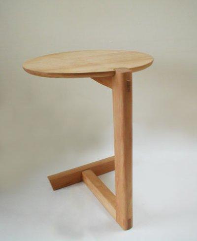 画像1: サイドテーブルELLU(エル)【送料無料】木製壁掛棚/無垢家具のイオリスペース