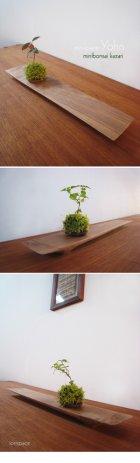 他の写真3: ミニ盆栽飾り台:miniplateKAKU(ミニプレート・カク)
