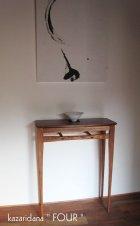 他の写真2: コンソールテーブル(フォー)スリムでおしゃれ 奥行24cm送料無料