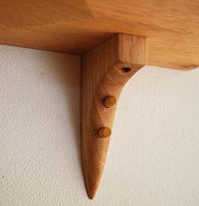 木製壁<br /> <br /> 掛棚/ウォールシェルフ