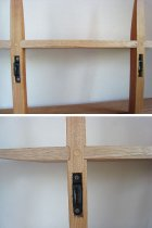 """他の写真1: 【送料無料】木製壁掛棚/ウォールシェルフ/""""TWIN""""ツイン"""
