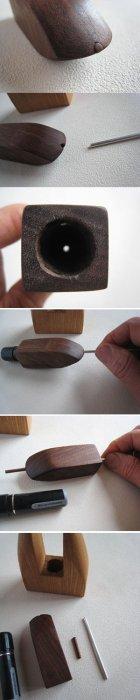 他の写真2: 印鑑ホルダー/ベーシック(シャチハタ専用木製ホルダー)