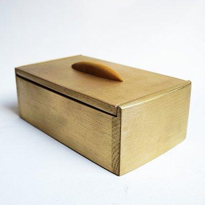 画像1: お財布bed(ベッド) 金運、運気上昇 黄金色のハンドメイドBOX  イオリスペース