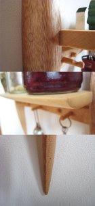 """他の写真3: 【木製壁掛棚/ウォールシェルフ】Eichi""""エイチ"""""""
