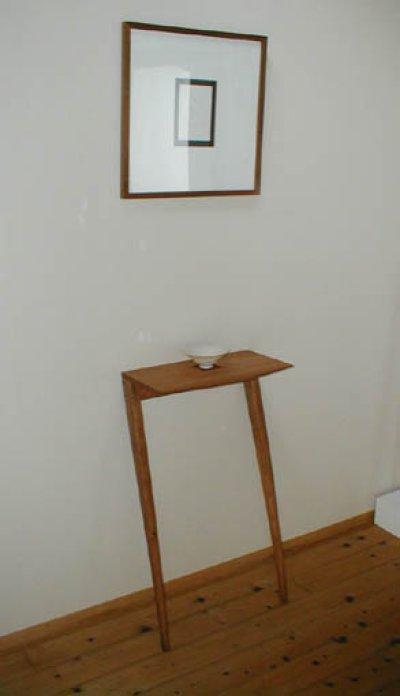 画像1: 飾り棚wall【送料無料】木製壁掛棚/無垢家具のイオリスペース