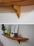 他の写真3: 【木製壁掛棚/ウォールシェルフ】TANA100オークモデル[ 壁面のアクセントにも!]