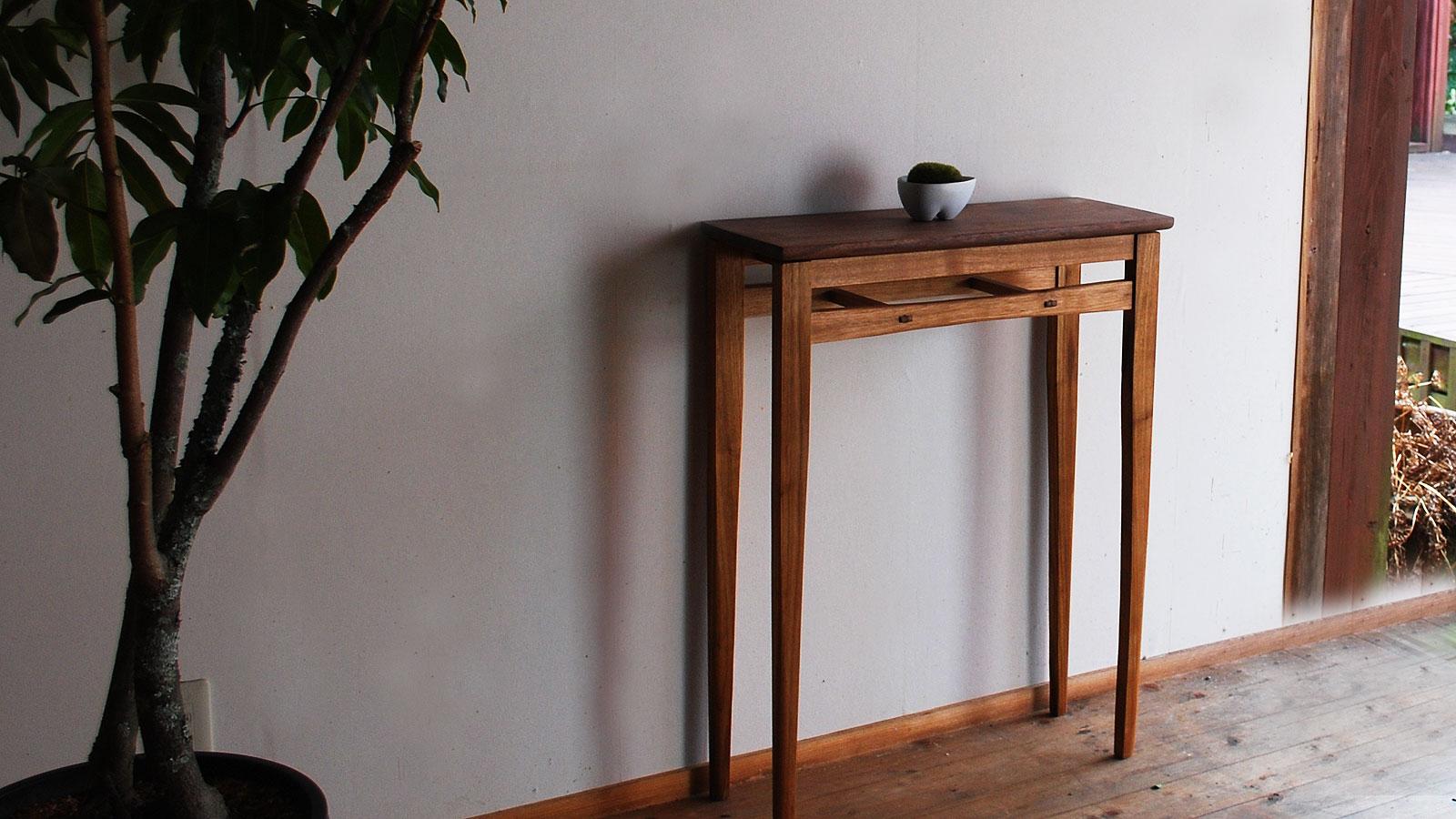 玄関 コンソールテーブル